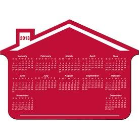 Customizable House Calendar Magnet for Promotion