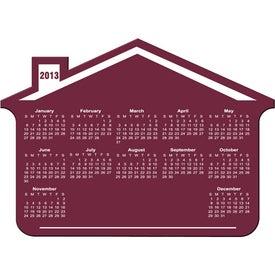 Customizable House Calendar Magnet for Your Organization