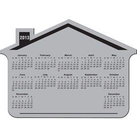Custom Customizable House Calendar Magnet