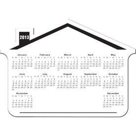 Promotional Customizable House Calendar Magnet