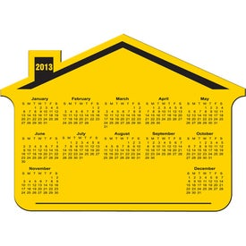 Customized Customizable House Calendar Magnet
