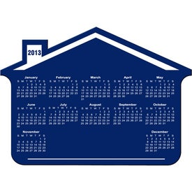 Customizable House Calendar Magnet for Your Organization