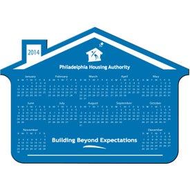Company Customizable House Calendar Magnet