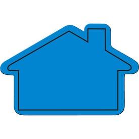 Logo House Flexible Magnet