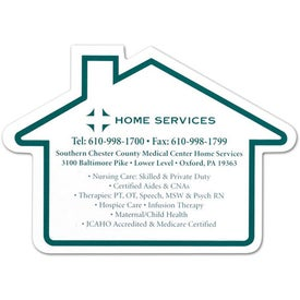 House Jumbo Magnet (.020 Thickness, Digitally Printed)