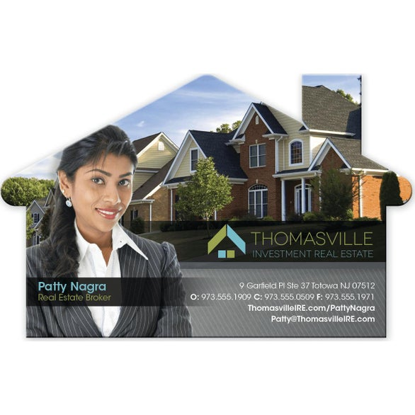 Full Color Imprint House Magnet