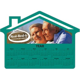 "House Shaped Calendar Magnets (0.02"" Thick, 2022)"