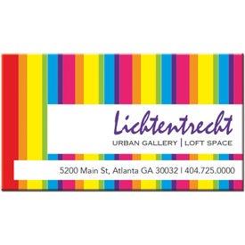 Monogrammed Large Business Card Magnet