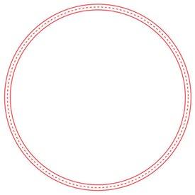 Large Stock Shape Magnet (Circle - 30 Mil)