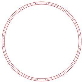 "Large Stock Shape Magnet Circle (0.02"" Thick)"