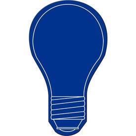 Imprinted Light Bulb Flexible Magnet