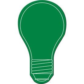 Monogrammed Light Bulb Flexible Magnet