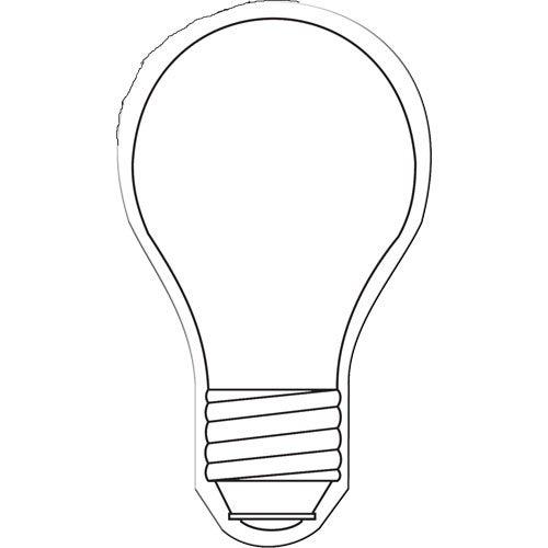 coloring christmas light bulbs