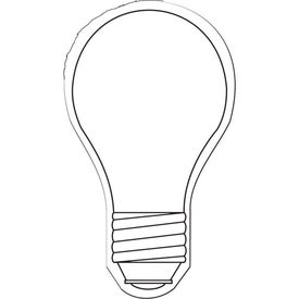 Monogrammed Light Bulb Flexible Magnet