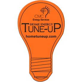 Branded Light Bulb Flexible Magnet
