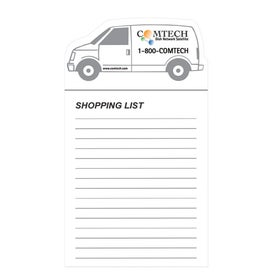 Magnet with Non Adhesive Notepads for Marketing