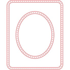 Small Picture Frame Magnet (Oval, 30 Mil, Digital Print)