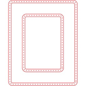 Small Picture Frame Magnet (Rectangle, 30 Mil)