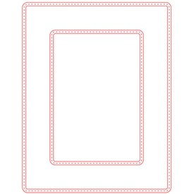 "Large Picture Frame Magnet (0.02"" Thick, 5.25"" x 6.75"" x 0.02"")"