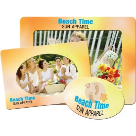 Large Picture Frame Magnet (Rectangle/Oval, 30 Mil)