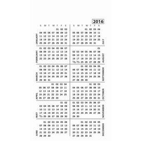 Medium Calendar Magnet for your School