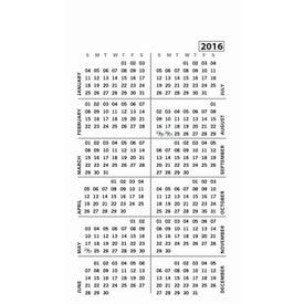 Medium Calendar Magnet Printed with Your Logo
