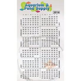Medium Calendar Magnet (30 Mil, Digitally Printed)