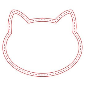 "Medium Cat Magnet (0.03"" Thick)"