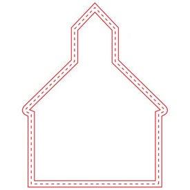 Medium Stock Shape Magnet (Church - 30 Mil)