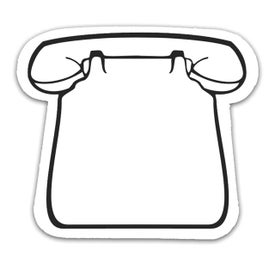 Telephone Magnet for Customization