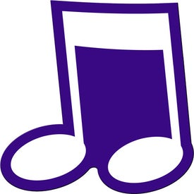 Musical Note Flexible Magnet for Your Church