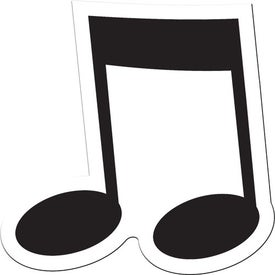 Musical Note Flexible Magnet for Marketing