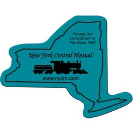Printed New York Flexible Magnet