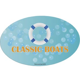 Oval Car Magnet (Digitally Printed)