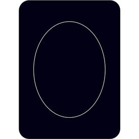 Promotional Oval Photo Magnet