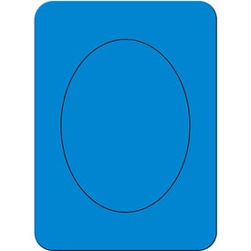Advertising Oval Photo Magnet