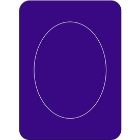 Imprinted Oval Photo Magnet