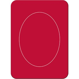 Oval Photo Magnet Branded with Your Logo