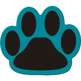 Monogrammed Paw Flexible Magnet