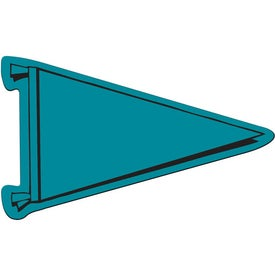 Pennant Flexible Magnet Imprinted with Your Logo