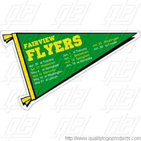 Pennant Schedule Magnet