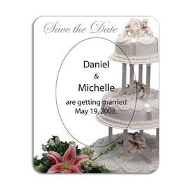Oval Picture Frame Magnet with Your Slogan