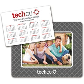 """Punch Out Picture Frame Calendar Magnet (5.25"""" x 6.75"""", .030 Thickness)"""