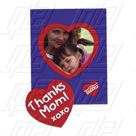 Picture Frame Magnet with Heart Punch-Out