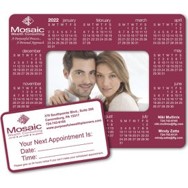 Calendar Frame Magnet-Rectangle Punchout (Digital)