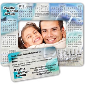 """Punch Out Calendar Picture Frame Magnet (5.5"""" x 7.25"""", .030 Thickness)"""