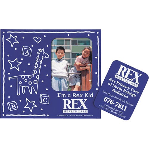 Baby Theme Frame Magnet w/Rectangle
