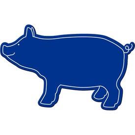 Printed Pig Magnet