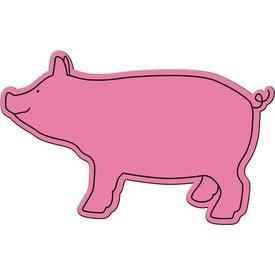 Branded Pig Magnet
