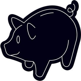 Printed Piggy Bank Magnet
